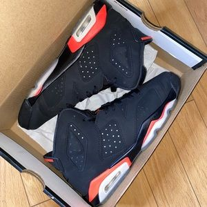 Air Jordan 6 retro black infrared GS
